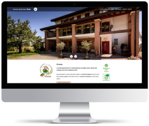 Sito web per azienda agricola e Bad and Breakfast.