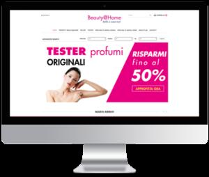 realizzazione E-commerce per profumeria online.