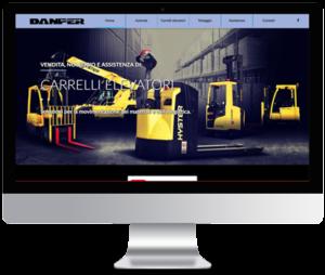 sito web aziendale per Danper.