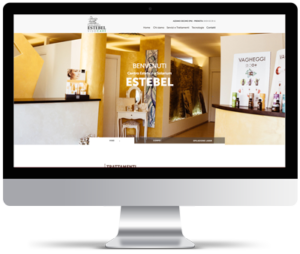 Creazione sito web per centro estetico Estebel