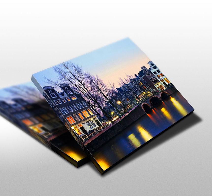 Stampa fotoquadri su tela in Canvas