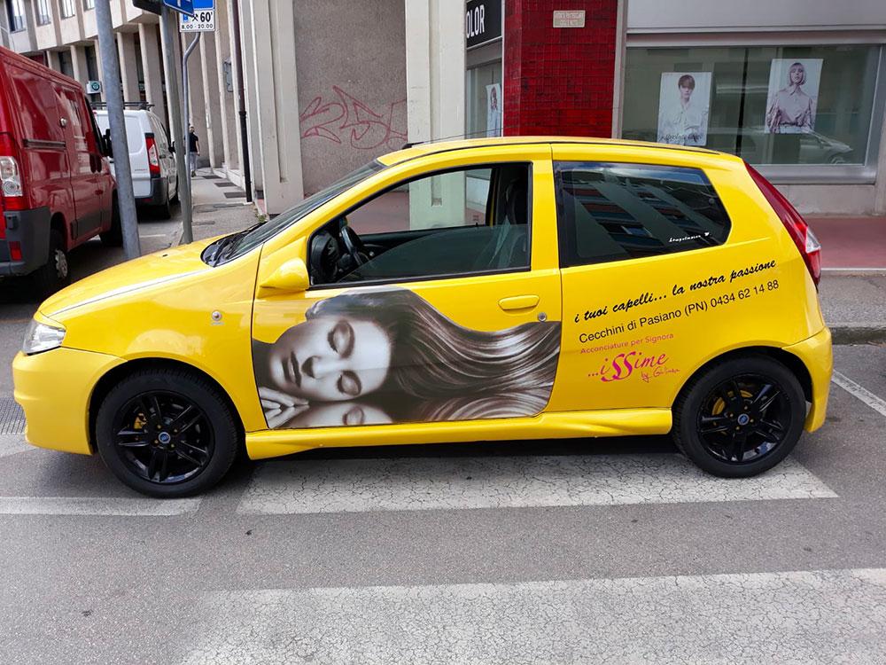 Decorazione auto aziendale